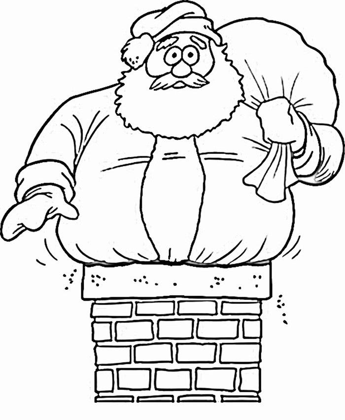 61 best santa templates shapes crafts colouring pages for Santa coloring pages free
