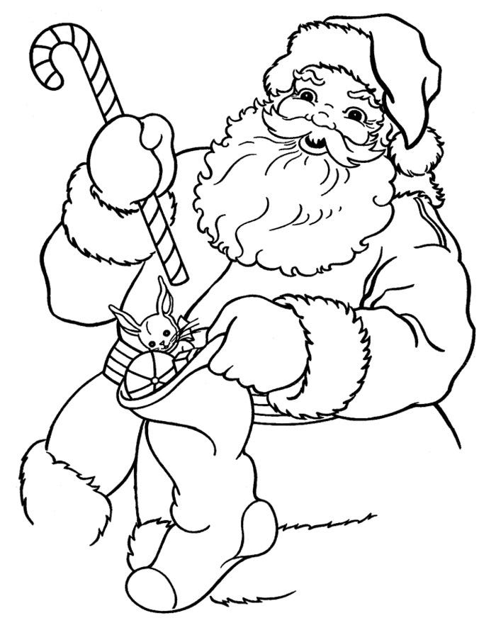 61+ Best Santa Templates Shapes, Crafts & Colouring Pages ...