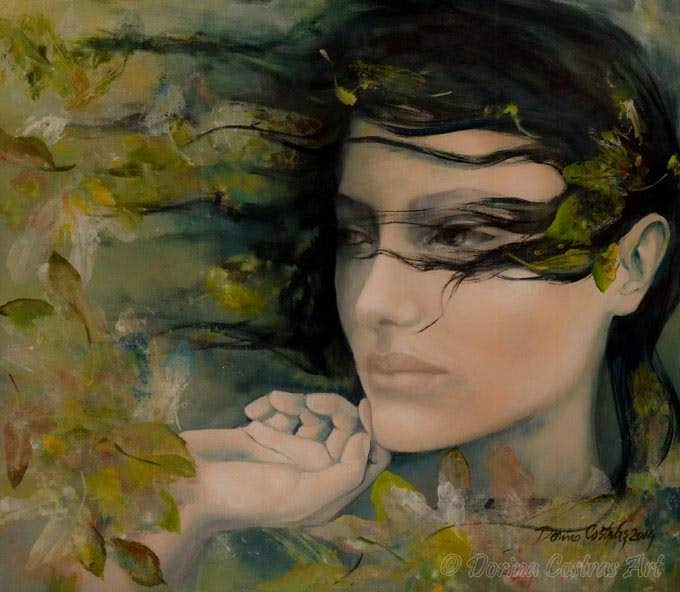 scente of october figurative art