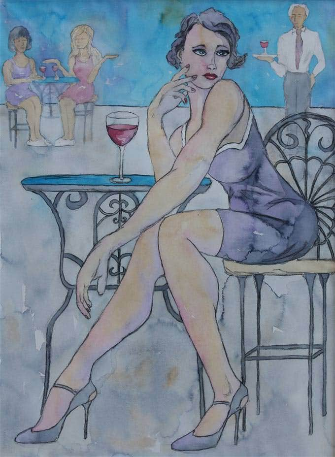 shes got legs figurative art painting