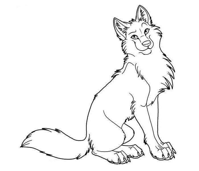 download - Wolf Coloring Pages