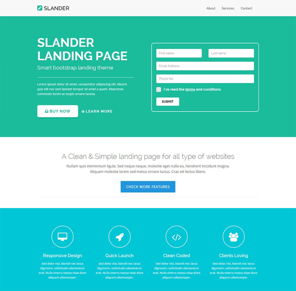 15 best start up landing pages to download free premium templates .
