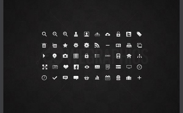 small web icons