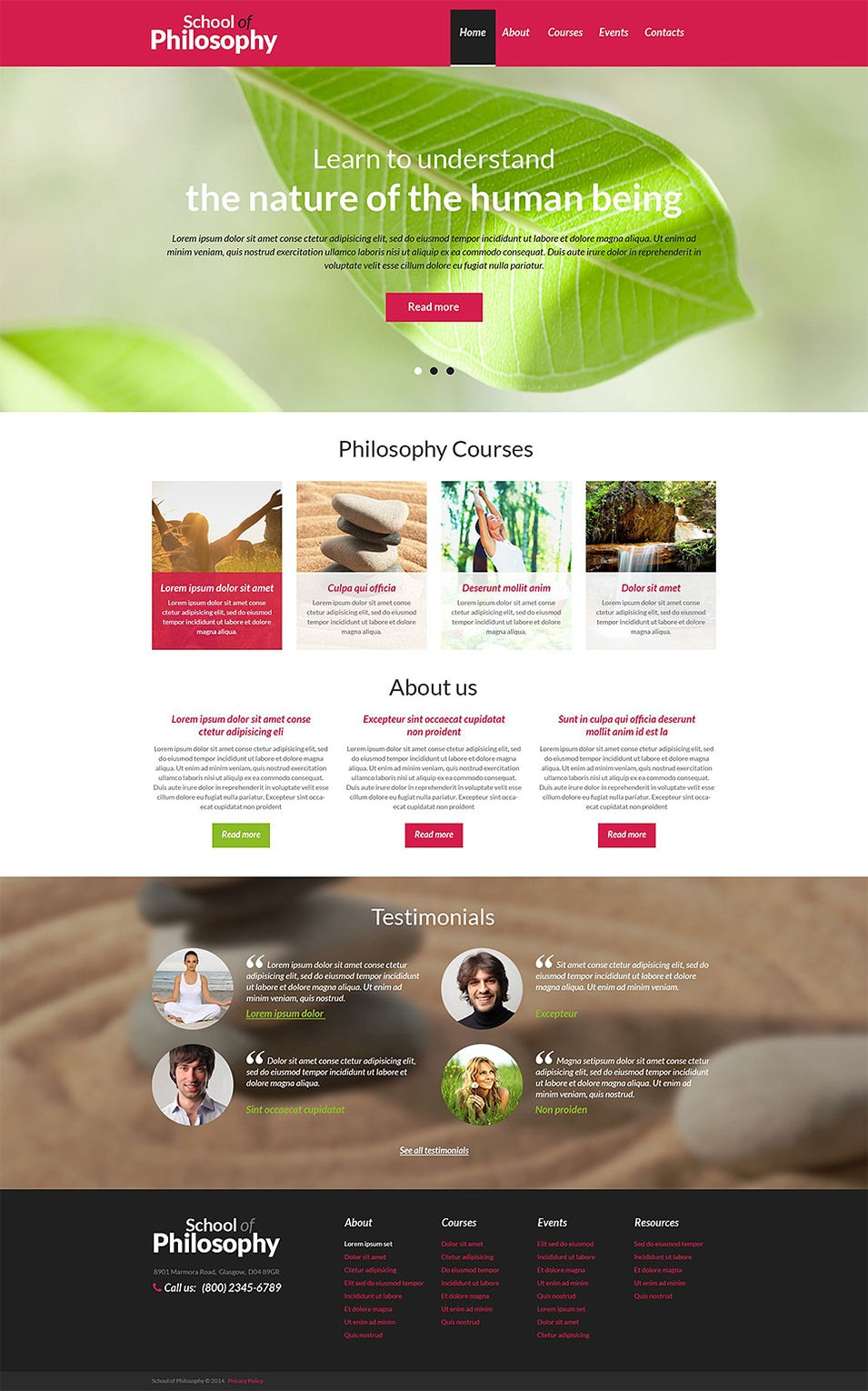 spiritual enlightenment club drupal template