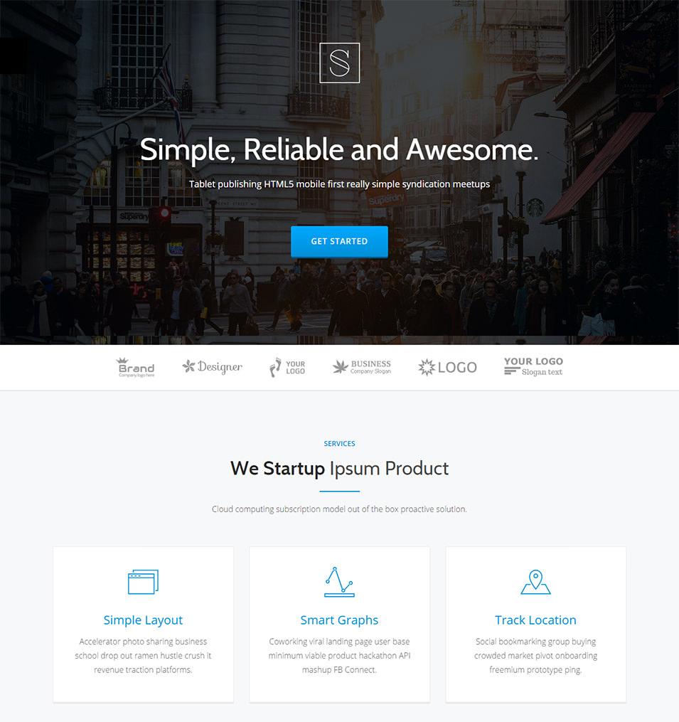 stamp responsive startup theme1