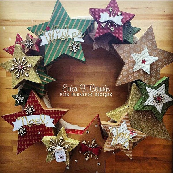 star shape craft template