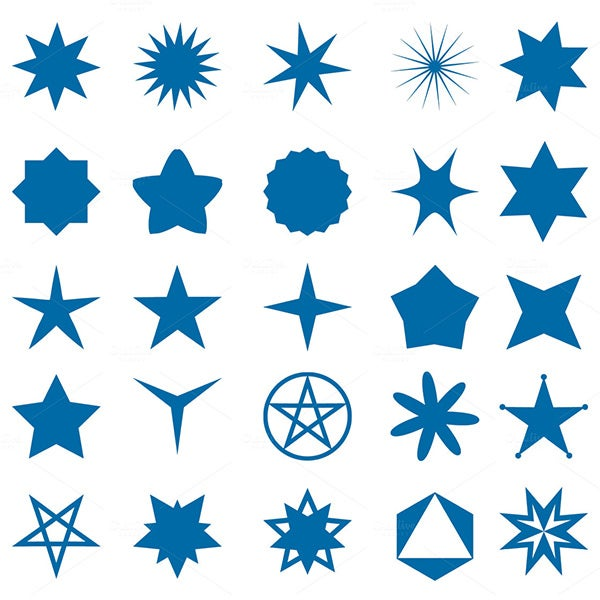 Star Templates  Star Designs  Crafts  Free  Premium Templates