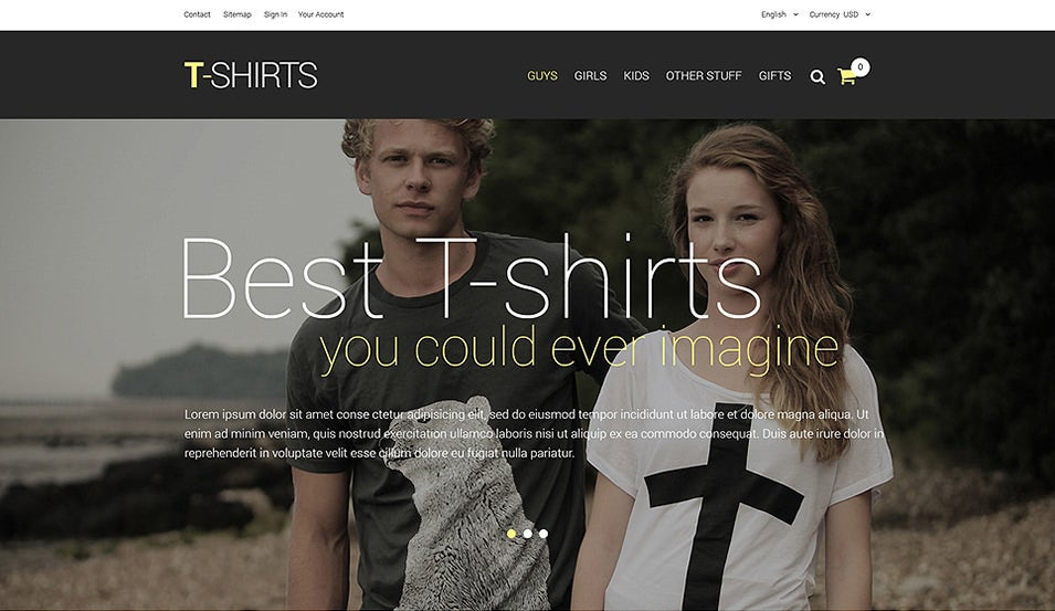 t shirt shop responsive prestashop theme1