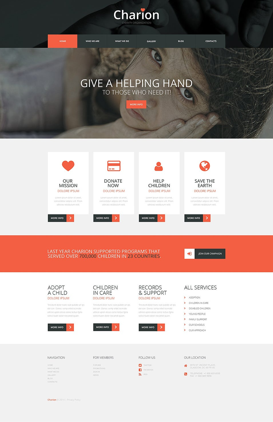Tender Heart Community WordPress Theme