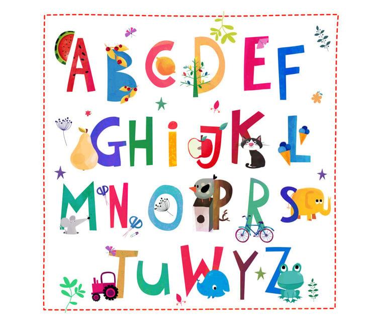35+ Best Printable Alphabet Posters & Designs | Free & Premium ...