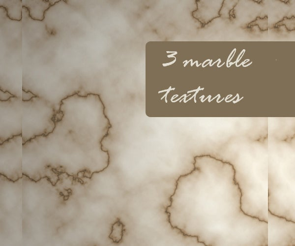 three marble textures