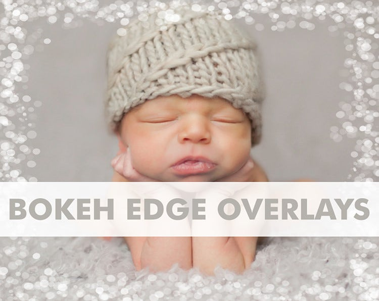 Transparent Bokeh Edge Overlays