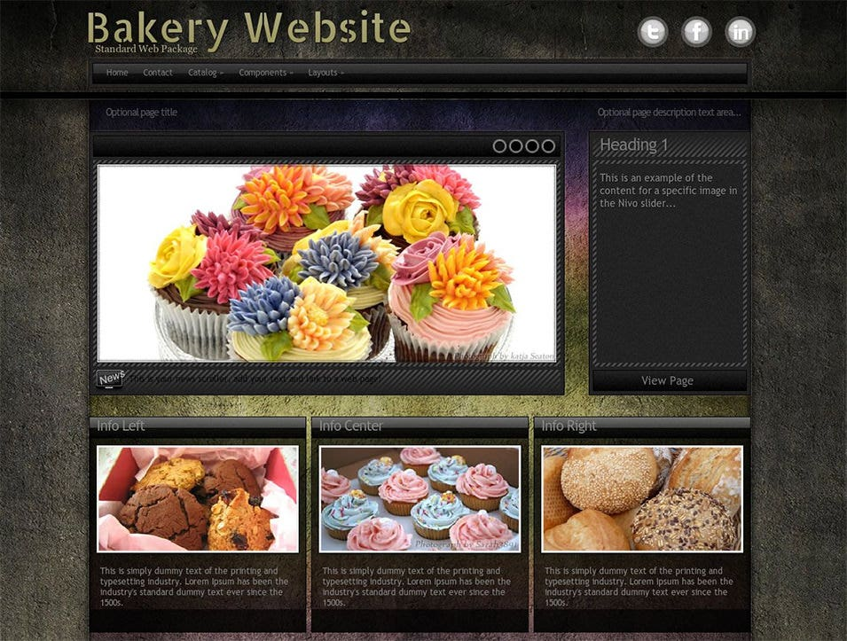 ultraviolet bakery wordpress theme