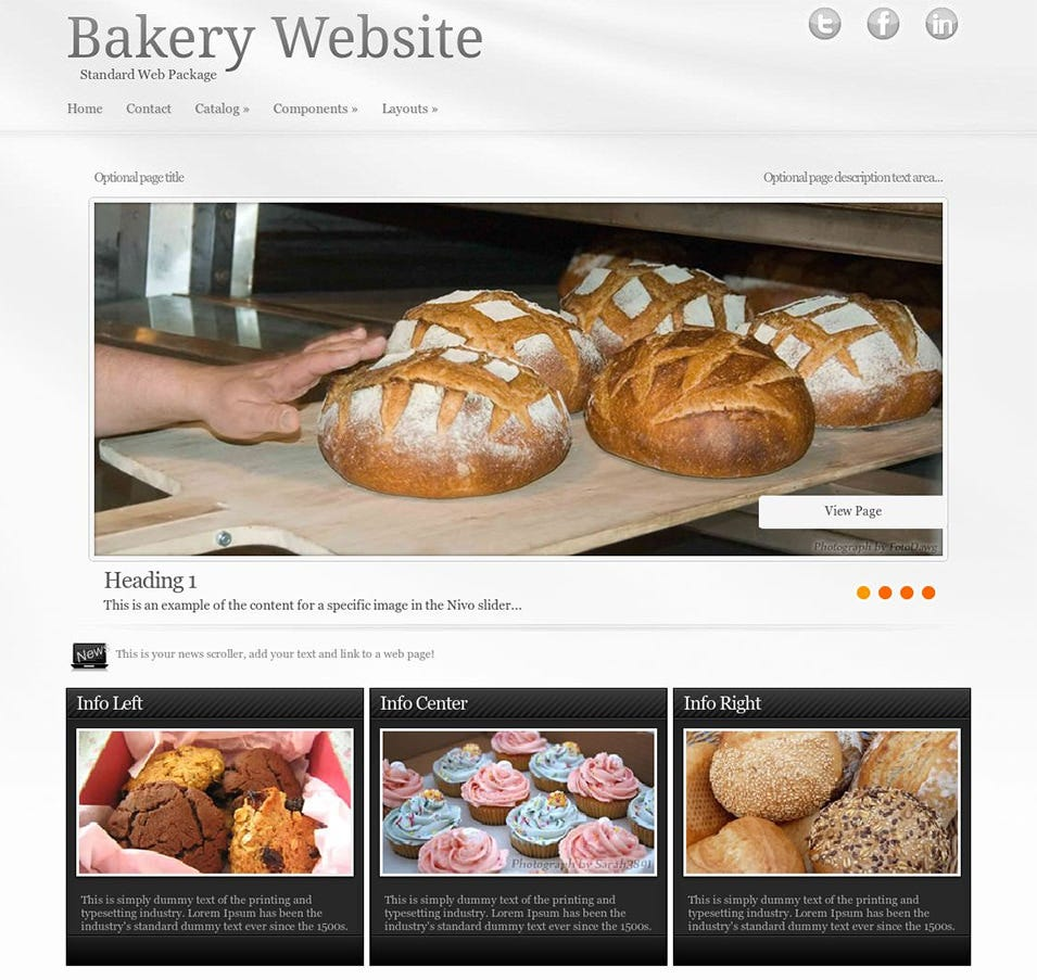 virtue bakery wordpress theme