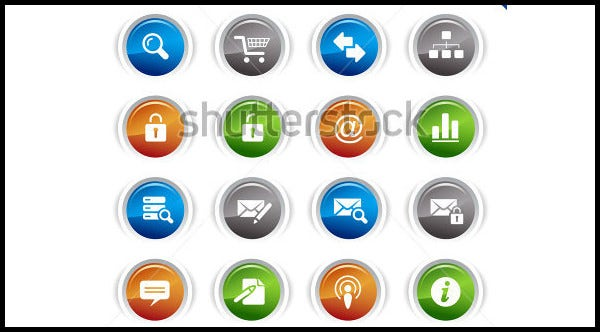 web site and internet icons3