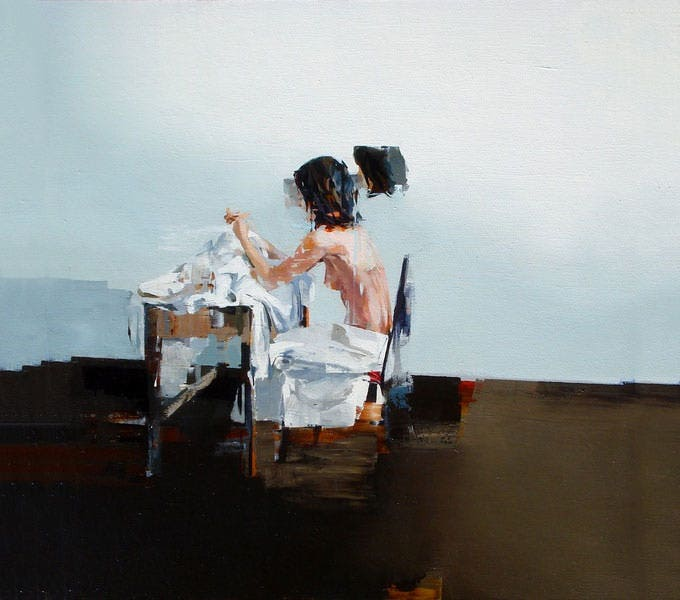 women figurative painting joshua bronaugh