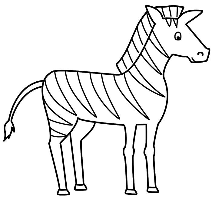 zebra template printable