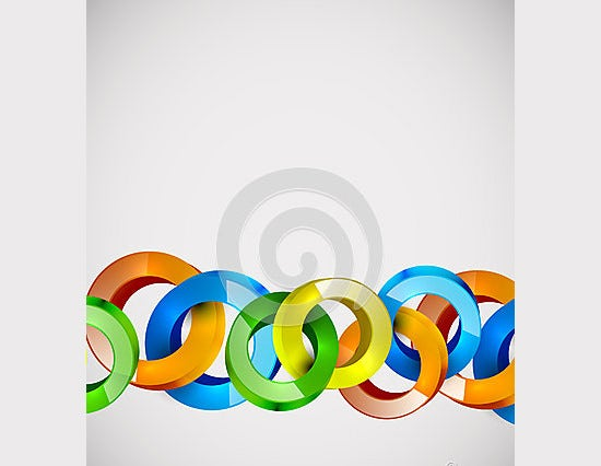 abstract vector web bubble design