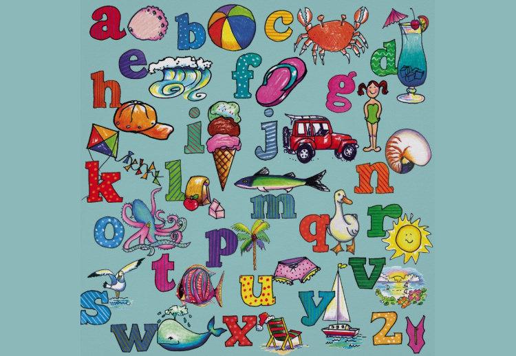 alphabet bay poster