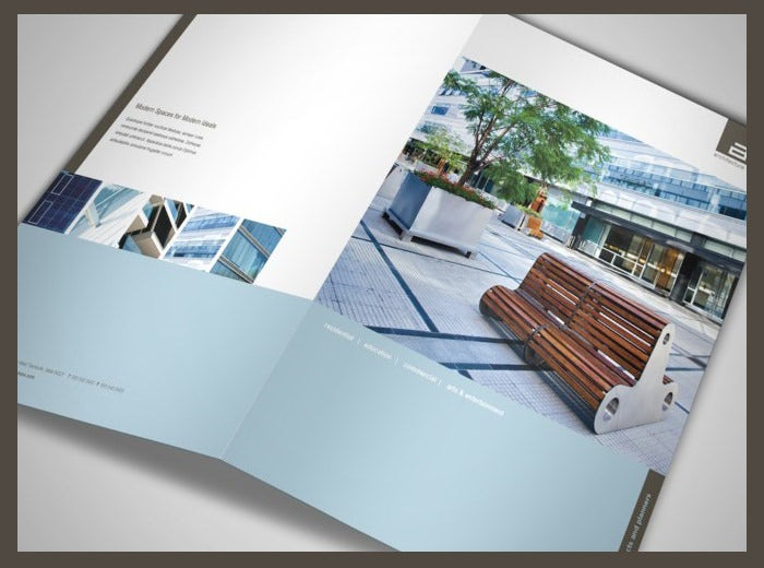 architect and design firm brochure template 2