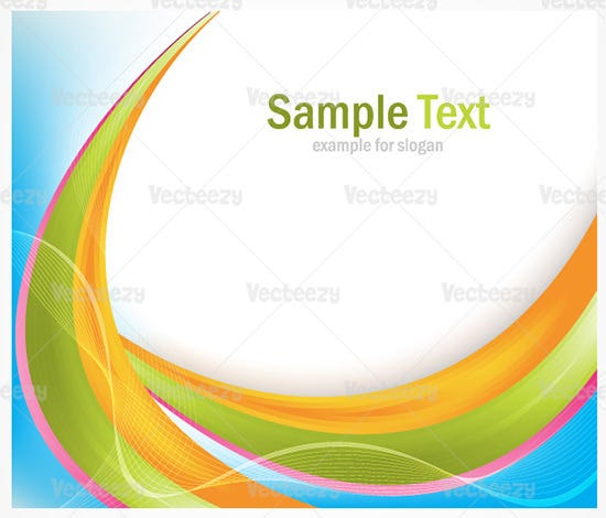 colorful abstract vector background 2