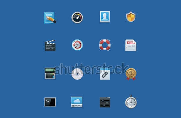 common website icons
