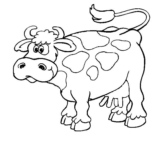 cow template 19