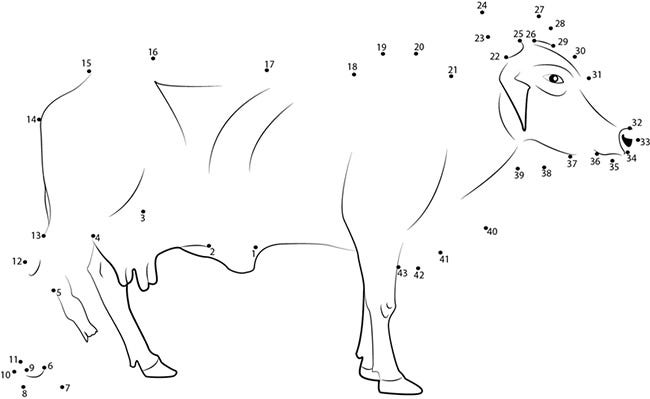 cow template 33