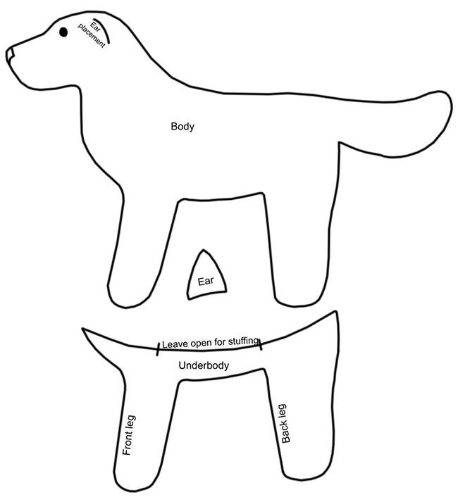 Dog template animal templates free premium templates dog template 10 maxwellsz