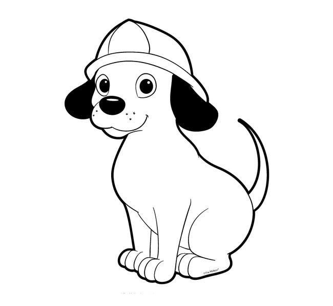 Dog Outlines Printable