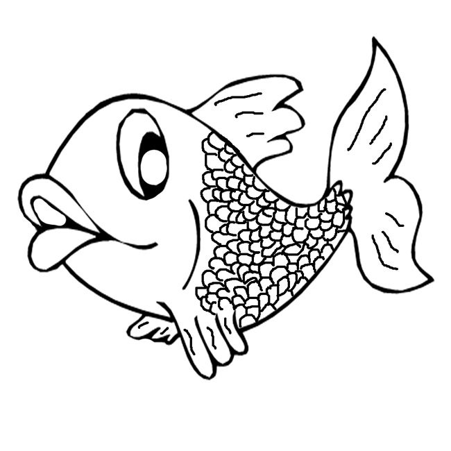 X for Xray Fish Coloring Page  babadoodlecom
