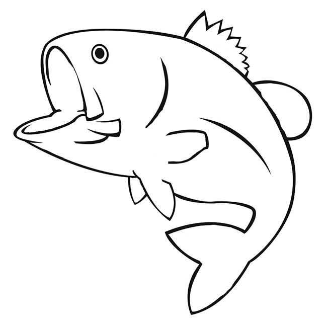 Nifty image pertaining to fish cutouts free printable
