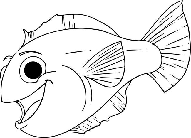 fish printable template