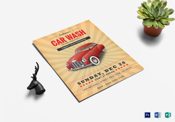 28 Car Wash Flyers Word Ai Psd Eps Indesign Format Download