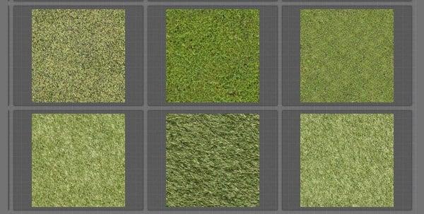 grass tiled textures