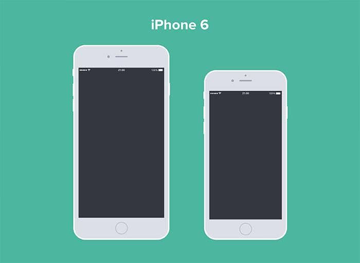 iphone 6 6 plus mockup by panagiotis efthymiou