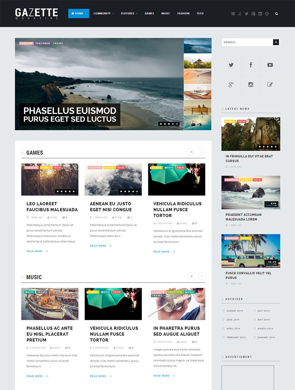 WordPress Community Theme