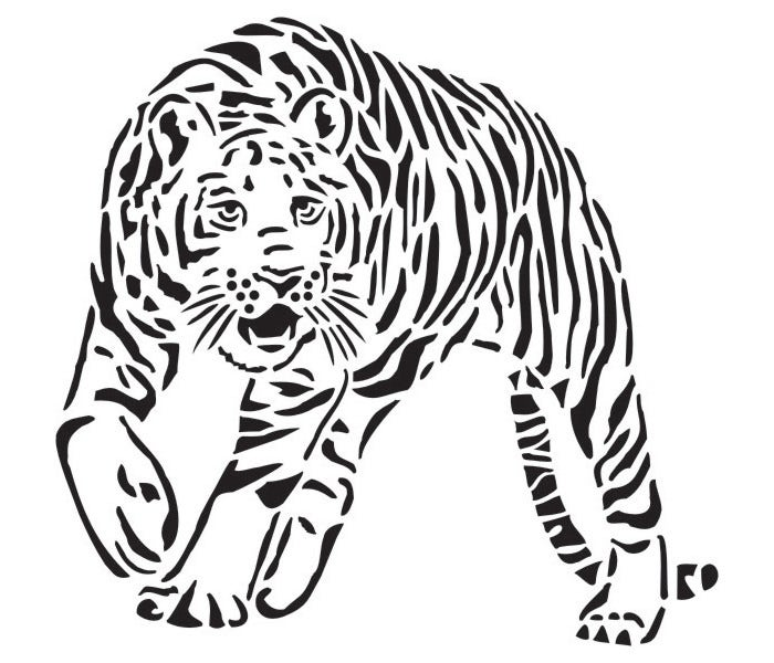 60 Tiger Shape Templates Crafts amp Colouring Pages Free Premium Templates