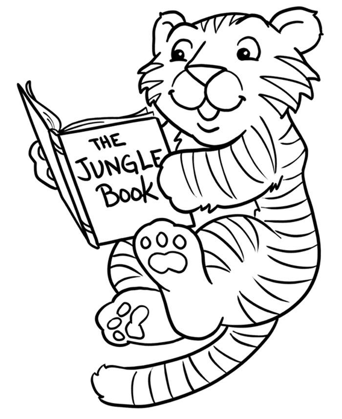 60+ Tiger Shape Templates, Crafts & Colouring Pages | Free ...