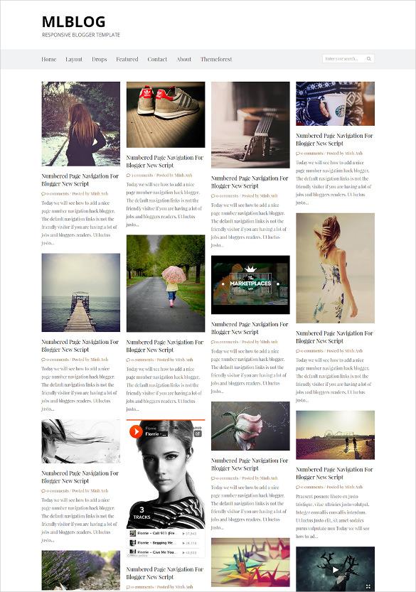mlblog responsive blogger template1