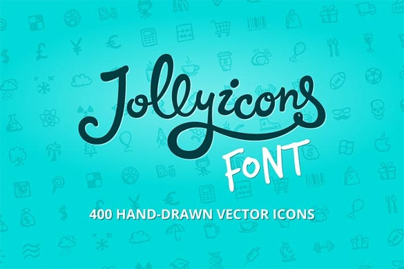 jolly icons infographic font
