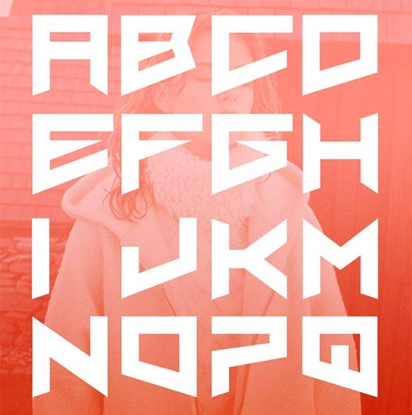 nero free infographic font