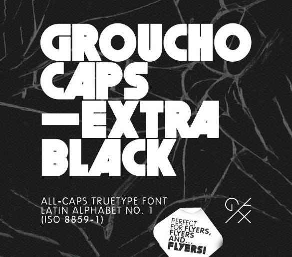 grouchocaps infographic heading font1