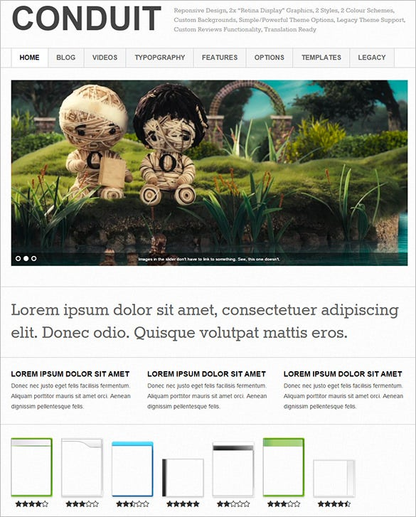 responsive wordpress theme for gaming