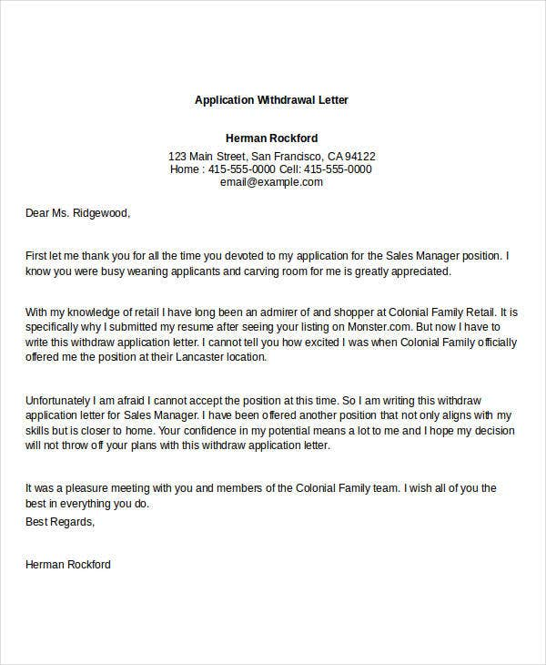 Job Application Letter University - azwg.tk
