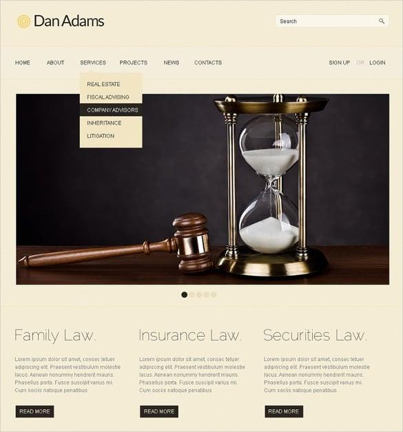 best premium lawyer wordpress theme