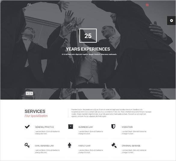 lawyers business wordpress the