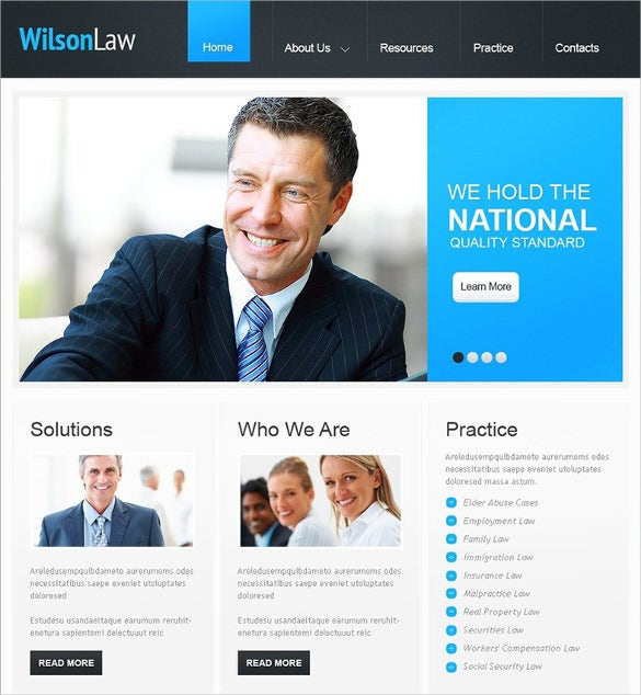 perfect wordpress theme for lawyer