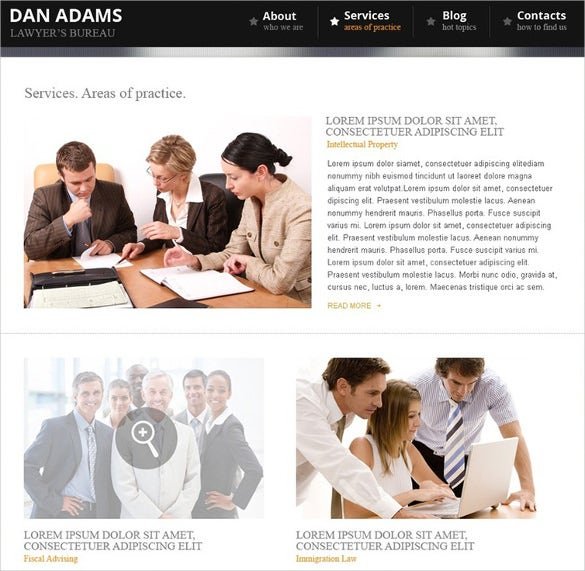 splendid lawyer wordpress theme