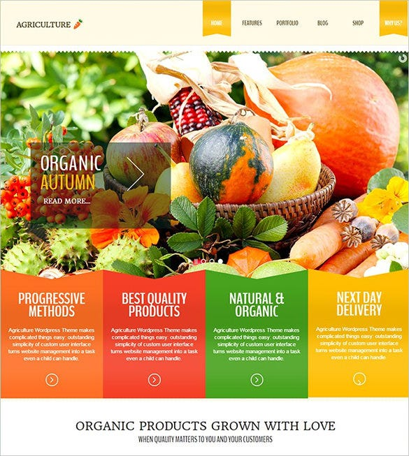 best agriculture wordpress theme